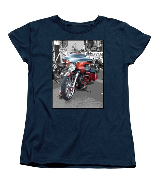 Women's T-Shirt (Standard Cut) featuring the photograph American Heat - Palm Springs by Glenn McCarthy Art and Photography