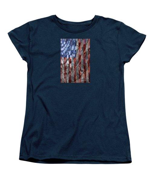 American Sacrifice Women's T-Shirt (Standard Cut) by DJ Florek