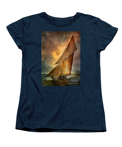 America's Cup  Women's T-Shirt (Standard Cut) by Andrzej Szczerski