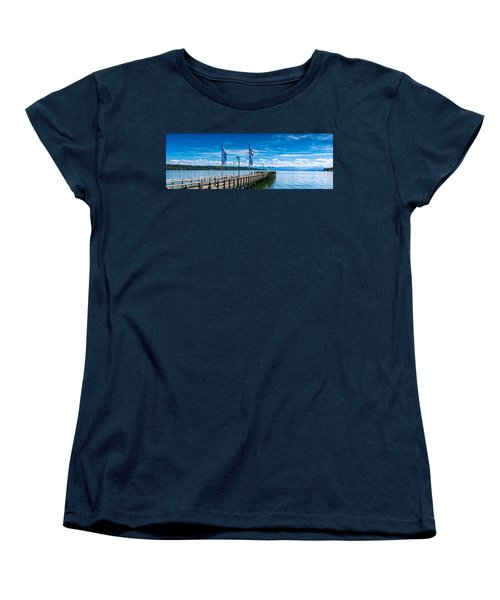 Ammersee - Lake In Bavaria Women's T-Shirt (Standard Cut) by Juergen Klust