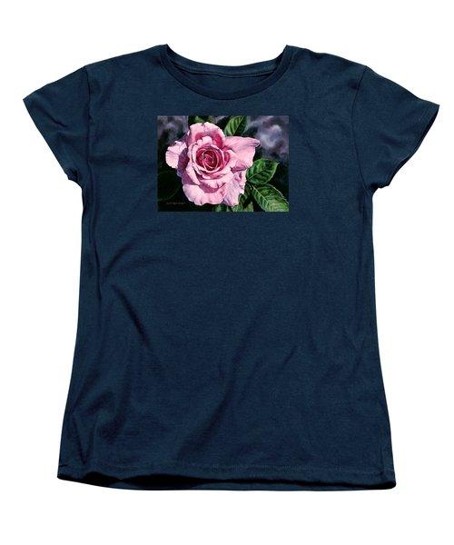 Amoure Women's T-Shirt (Standard Cut) by Lynda Hoffman-Snodgrass