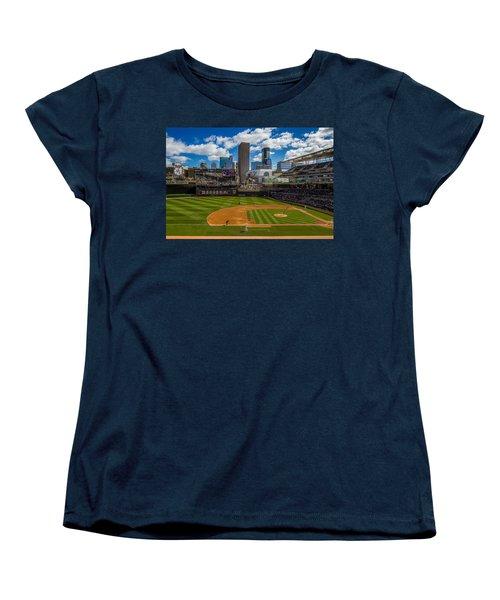 An Afternoon At Target Field Women's T-Shirt (Standard Cut) by Tom Gort