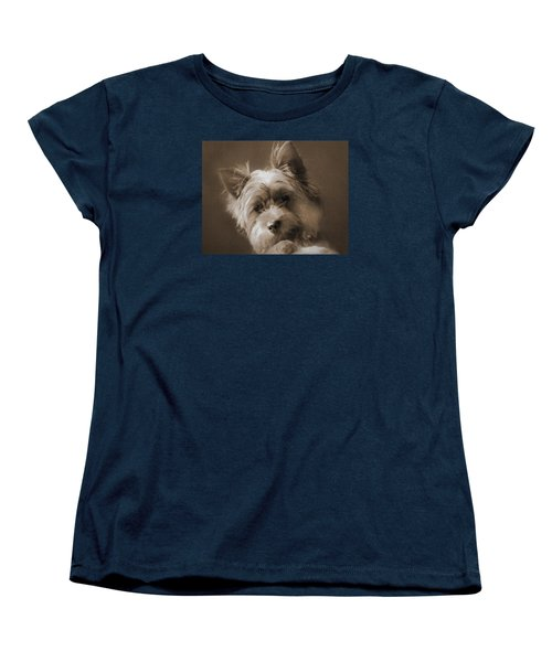 Women's T-Shirt (Standard Cut) featuring the photograph And The Little Princess by I'ina Van Lawick