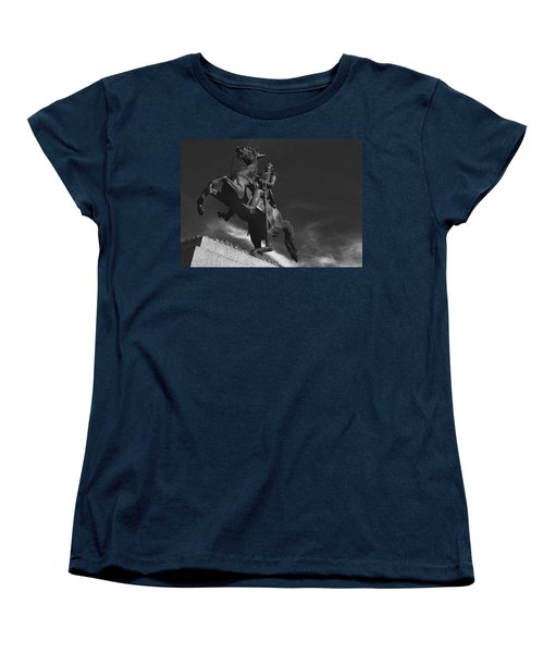 Andrew Jackson   Women's T-Shirt (Standard Cut) by Ron White