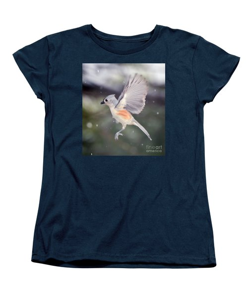 Women's T-Shirt (Standard Cut) featuring the photograph Angel Wings by Kerri Farley