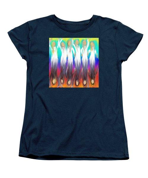 Angels 3 26 2014 Women's T-Shirt (Standard Cut) by Hidden  Mountain
