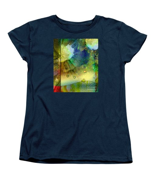 Women's T-Shirt (Standard Cut) featuring the painting Angiospermae by Allison Ashton