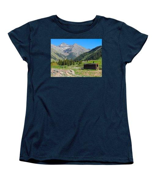 Animas Forks Jail Women's T-Shirt (Standard Cut) by Dan Miller