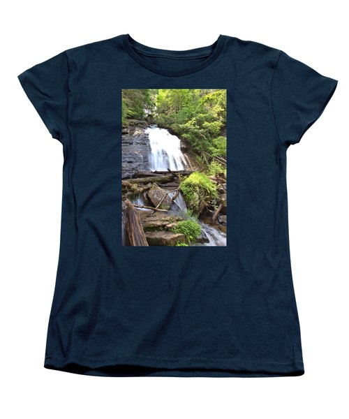 Anna Ruby Falls - Georgia - 4 Women's T-Shirt (Standard Cut)