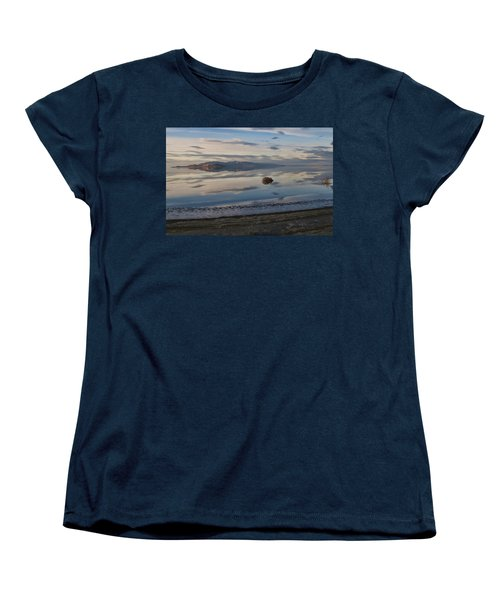 Women's T-Shirt (Standard Cut) featuring the photograph Antelope Island - Lone Tumble Weed by Ely Arsha