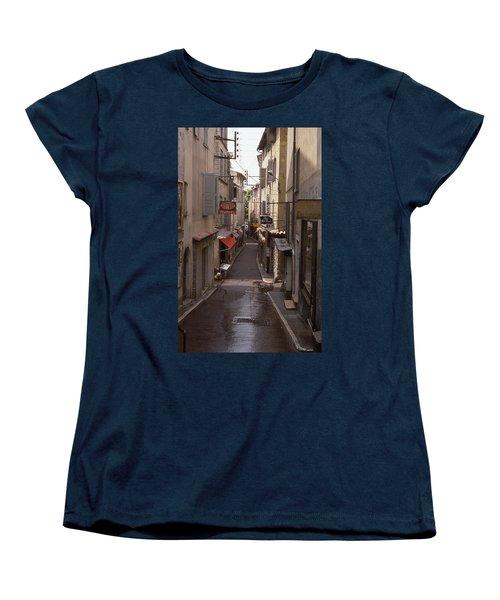 Antibes 76 Women's T-Shirt (Standard Cut) by Mark Alan Perry