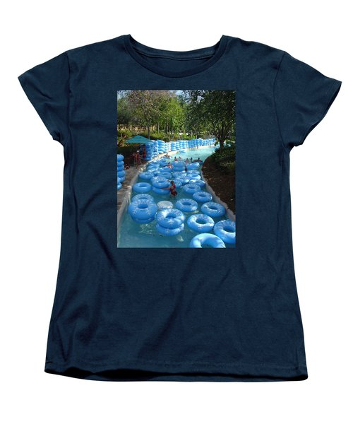 Women's T-Shirt (Standard Cut) featuring the photograph Any Spare Tubes by David Nicholls