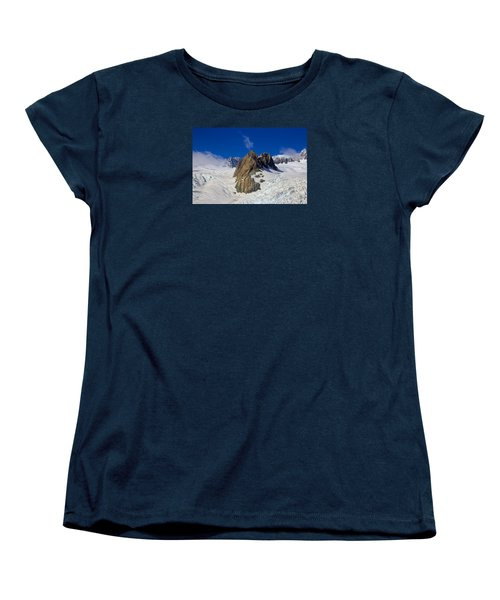 Aoraki Mount Cook Women's T-Shirt (Standard Cut) by Venetia Featherstone-Witty