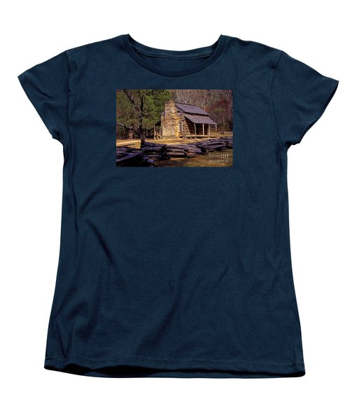 Appalachian Homestead Women's T-Shirt (Standard Cut) by Paul W Faust -  Impressions of Light