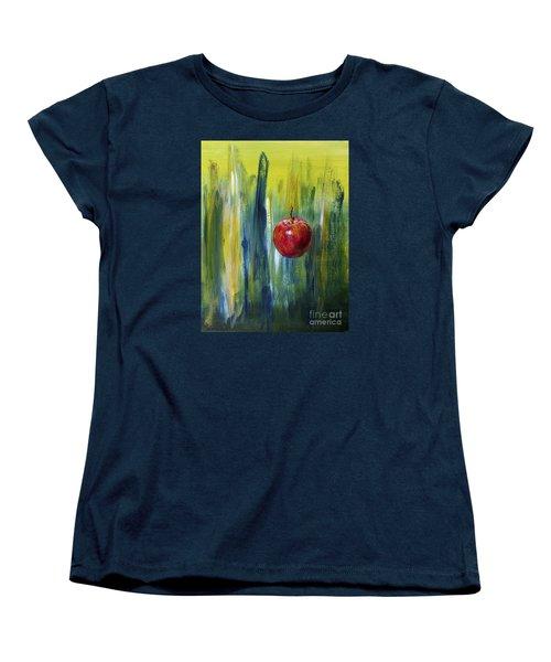 Apple Women's T-Shirt (Standard Cut) by Arturas Slapsys