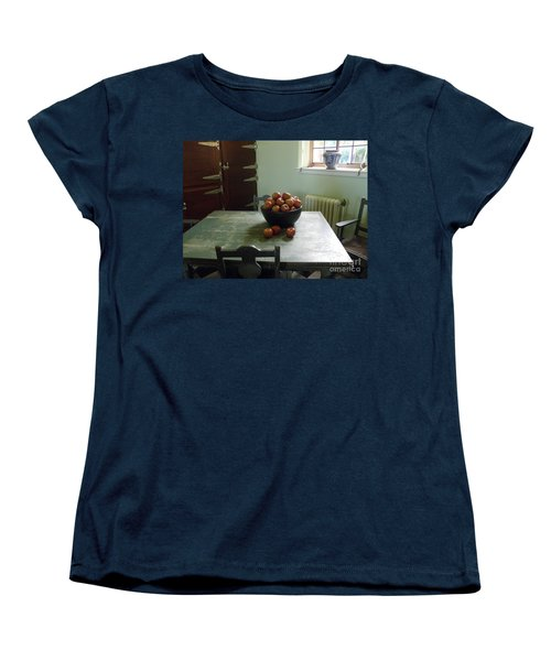 Women's T-Shirt (Standard Cut) featuring the photograph Apples by Valerie Reeves