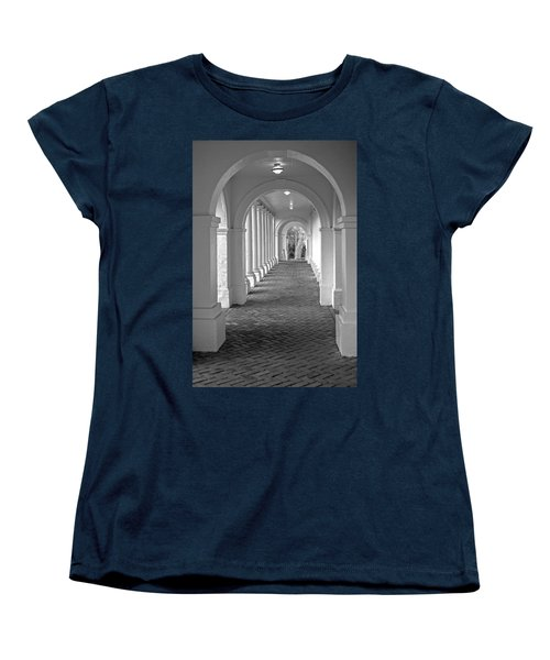 Arches At The Rotunda At University Of Va 2 Women's T-Shirt (Standard Cut) by Jerry Gammon