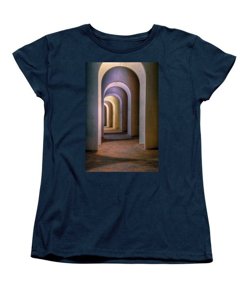 Arches Of The Ferguson Center Women's T-Shirt (Standard Cut) by Jerry Gammon
