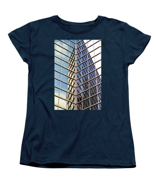 Architectural Details Women's T-Shirt (Standard Cut) by Valentino Visentini