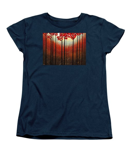 Aroma Do Campo Women's T-Shirt (Standard Cut) by Carmen Guedez