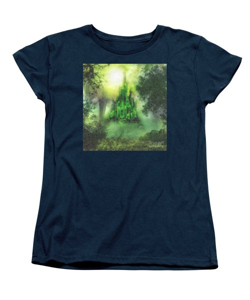 Arrival To Oz Women's T-Shirt (Standard Cut) by Mo T