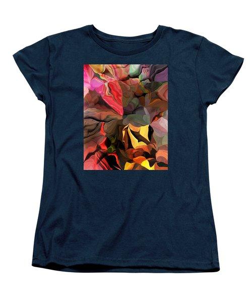 Women's T-Shirt (Standard Cut) featuring the digital art Arroyo  by David Lane