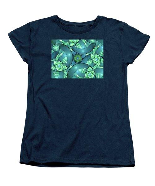 Women's T-Shirt (Standard Cut) featuring the digital art Art Deco by Gabiw Art