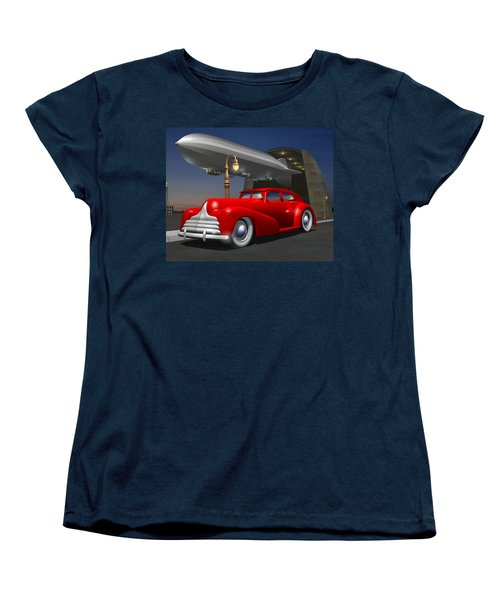 Art Deco Sedan Women's T-Shirt (Standard Cut) by Stuart Swartz