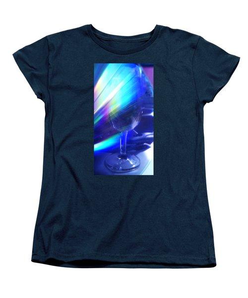 Women's T-Shirt (Standard Cut) featuring the photograph Art Glass by Martin Howard