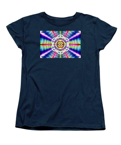 Women's T-Shirt (Standard Cut) featuring the drawing Ascending Eye Of Spirit by Derek Gedney
