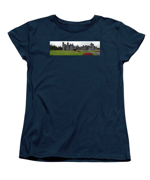 Ashford Castle Women's T-Shirt (Standard Cut) by Hugh Smith