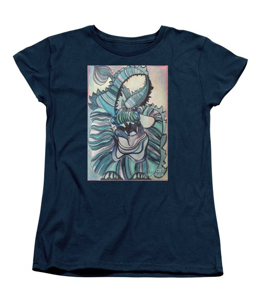 Women's T-Shirt (Standard Cut) featuring the painting Asian Celebrations by PainterArtist FIN