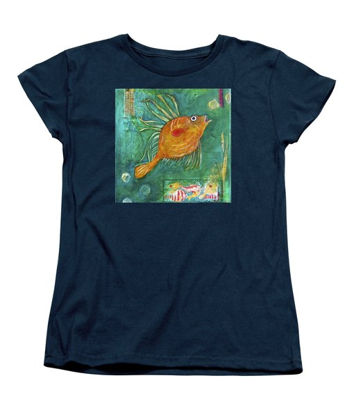 Asian Fish Women's T-Shirt (Standard Cut)