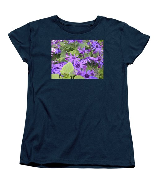 Asters Women's T-Shirt (Standard Cut) by Kim Prowse