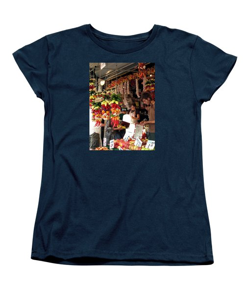 At The Market Women's T-Shirt (Standard Cut) by Chris Anderson
