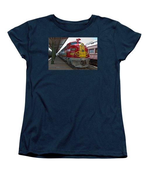 Atsf 315 Emd F7a Women's T-Shirt (Standard Cut) by John Black