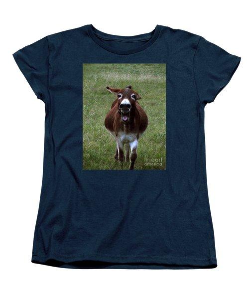Women's T-Shirt (Standard Cut) featuring the photograph Attack by Peter Piatt