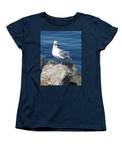 Attitude Women's T-Shirt (Standard Cut) by David Trotter
