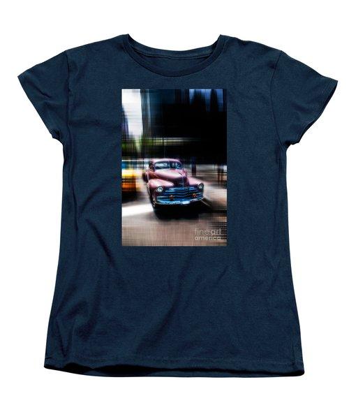 attracting curves III2 Women's T-Shirt (Standard Cut) by Hannes Cmarits