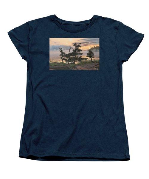 Auburn Evening Women's T-Shirt (Standard Cut) by Kenneth M  Kirsch