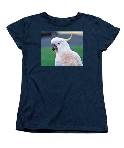 Australian Birds - Cockatoo Women's T-Shirt (Standard Cut) by Kaye Menner