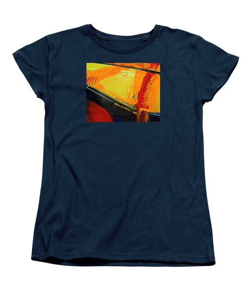 Abstract Composition No 2 Women's T-Shirt (Standard Cut) by Walter Fahmy