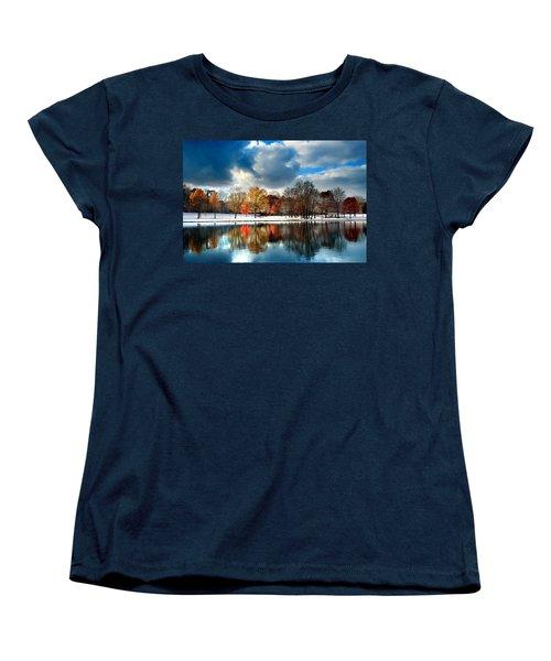 Autumn Finale Women's T-Shirt (Standard Cut) by Rob Blair