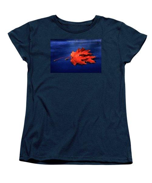 Autumn Fire Women's T-Shirt (Standard Cut) by Leena Pekkalainen
