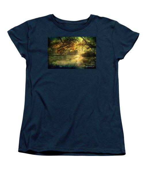 Autumn Light Women's T-Shirt (Standard Cut) by Ellen Cotton
