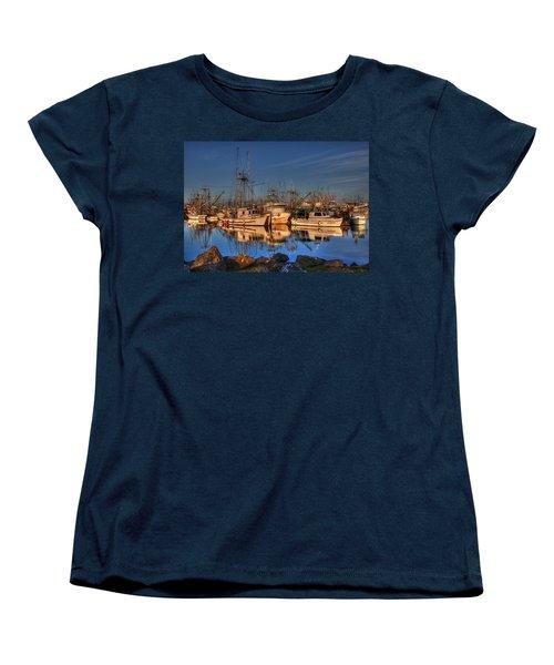 Autumn Light Women's T-Shirt (Standard Cut) by Randy Hall