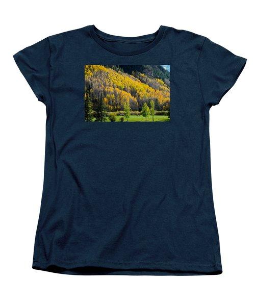 Autumn On The Links Women's T-Shirt (Standard Cut) by John McArthur
