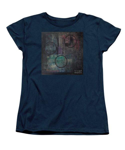 Aware Of Silence Women's T-Shirt (Standard Cut) by Mini Arora
