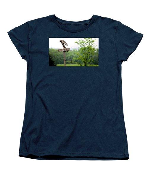B-ball History Women's T-Shirt (Standard Cut) by Brian Duram