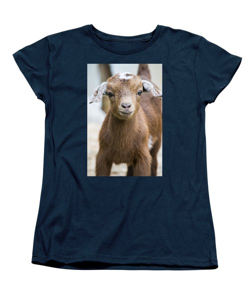 Baby Goat Women's T-Shirt (Standard Cut) by Shelby  Young
